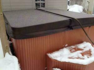 Hot Tub Covers Sale - FREE Shipping Today! Hot Tub Cover Lifters, Filters, Chemicals - Spa Cover Sale Manitoba Preview