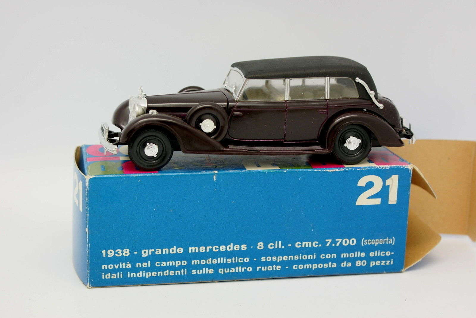 RIO 1 43 - Grande Mercedes 8 Cylindres 1938 21
