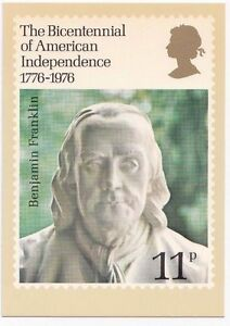 GB POSTCARDS PHQ CARDS MINT NO. 15 1976 AMERICAN INDEPENDENCE 10% OFF 5+