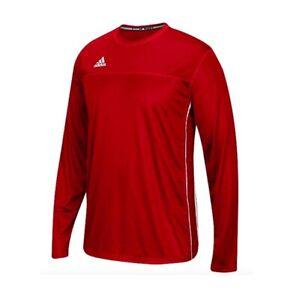Adidas Climacool Mens Long Sleeve Utility Jersey Performance Shirt ...