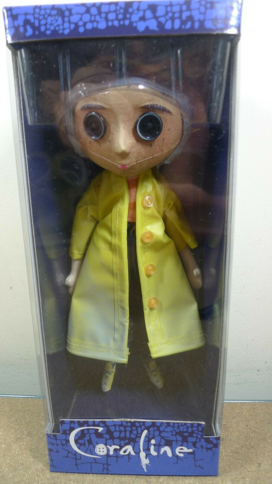 NECA Coraline Autentico MOVIE 10  PROP REPLICA doll