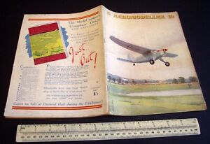 Vintage Aeromodeller Magazine (Jan 1947) Helios by D.A.Russell Cutaway & Cover.