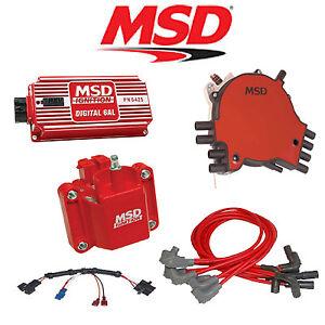 msd 9035 ignition kit digital 6al  distributor  wire  coil 95 PSI Lt1 Wiring Harness