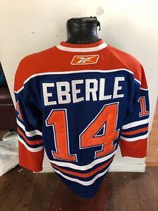 new arrival 09e1d 0981b Details about MENS Size 48 Reebok CCM Hockey Jersey Edmonton Oilers #14  Jordon Eberle