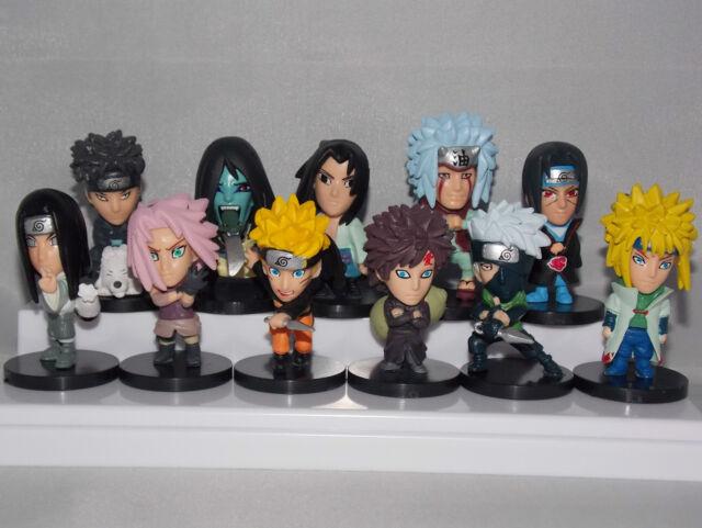 Naruto Mini Japanese Anime Figures - 5/6cm CHN Ver.
