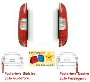 FARO FANALE POSTERIORE PER FORD TRANSIT 06 SX STOP SINIST GRUPPO OTTICO FANALINO