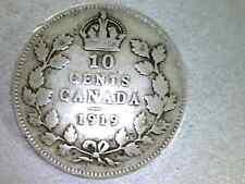 CANADA TEN CENT, 1919