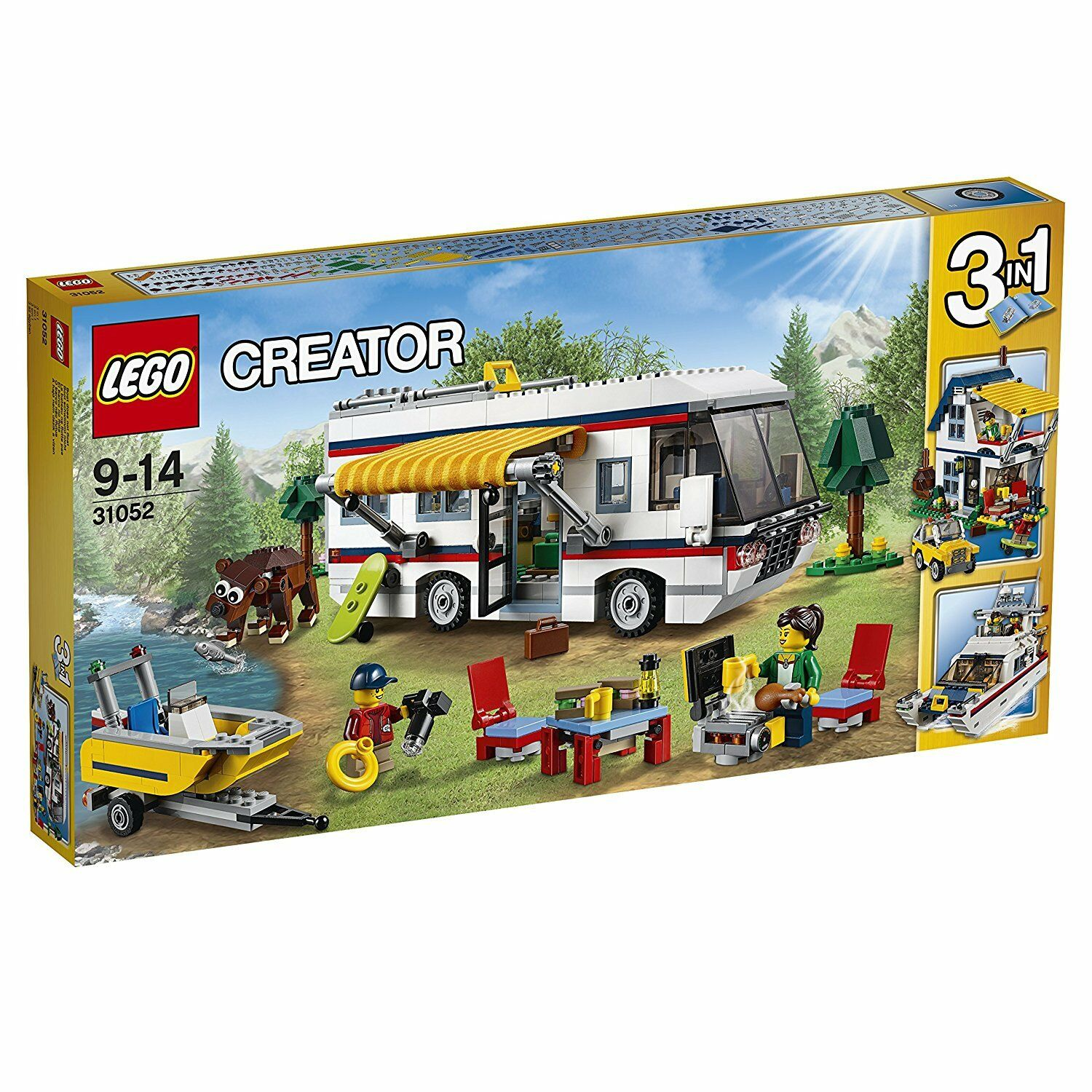 LEGO Creator Vacation Getaways 31052 BRAND NEW Sealed Box FREE Signed Delivery
