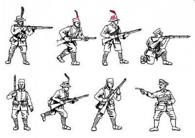 Model Figures-Contient 1 Spruce HAT 1//72 scale WWI Russian Artillery Crew