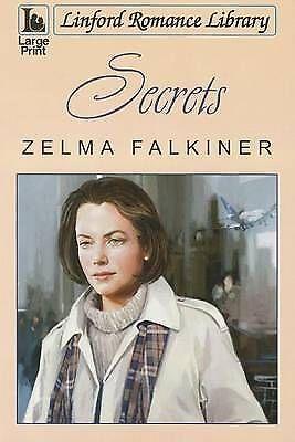 Falkiner, Zelma, Secrets (Linford Romance), Very Good Book