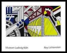 Roy Lichtenstein Study for Preparedness Poster Bild Kunstdruck & Rahmen 70x90cm