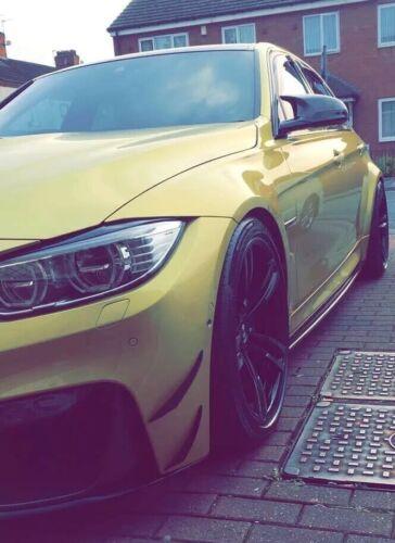 research.unir.net BMW M3 M4 Carbon Front Bumper Canards 4 piece ...