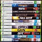 Xbox 360 Games : Select Your Titles - Microsoft Xbox 360 (PAL) - FREE POST