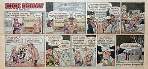 Rick-O-039-Shay-by-Stan-Lynde-full-color-Sunday-comic-page-December-22-1963