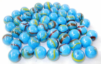 NEW 10 RED BEARD 14mm GLASS MARBLES TRADITIONAL COLLECTORS ITEMS