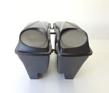 """Harley Davidson 6.5 #3 Lids   Stretched extended 4"""" Saddlebags Dual Exhaust"""