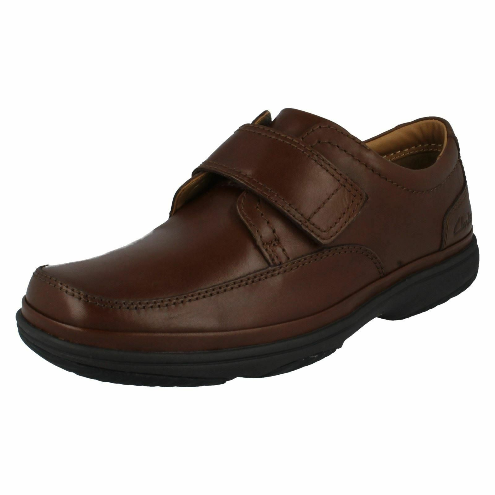 Clarks Hombre ' Zapatos de piel marrón ' Hombre Turn Swift ' 6ec53a