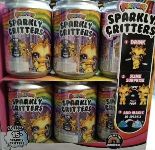 Brand new Poopsie sparkly critters Drop 2 lot of 12 Pets Slime