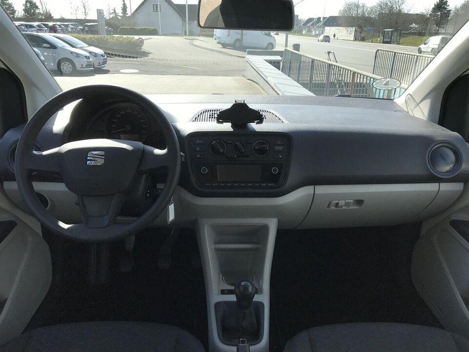 Seat Mii 1,0 MPi 60 Style Benzin modelår 2019 km 16000 Hvid