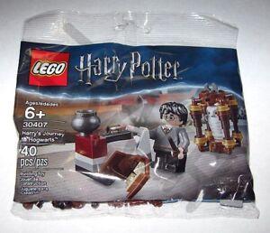 Lego-30407-Harry-Potter-Harry-039-s-Journey-to-Hogwarts-Polybag-100-New-Sealed