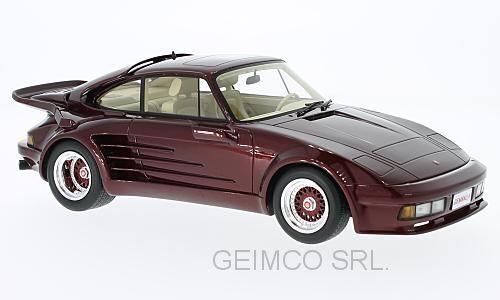Porsche 911 turbo gemballa lawine 1985 bos modelle 1,18 bos306 modell