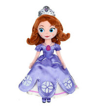 "Disney Store Sophia The First Once Upon A Princess Sofia Plush Doll 13"" Toy US"