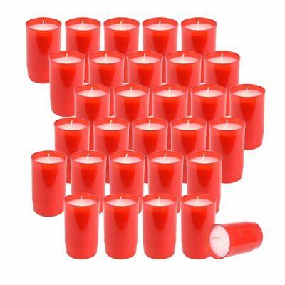 Serio 30 Pezzi Premium Tomba Luci, Pannelli Composizione Olio-luci, N. 3, Rosso- Dolcezza Gradevole