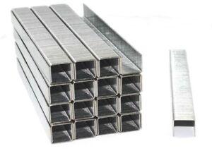 Klammern NEU Galvanisierte Heftklammern 10J 11,2 X 14 X 1,16 mm 5000er Pckg