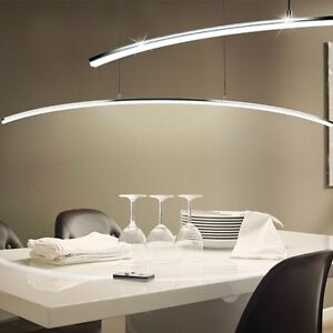 DESIGN LED Lampada A Sospensione Copertura curve Tavolo Cucina ...