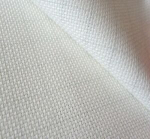 14 Count White Aida 50cm x 50cm 100/% Cotton Aida