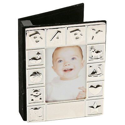 Silver plated Baby photo album FREE ENGRAVING
