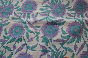 5-Yard-New-Indian-Hand-block-Print-Running-Loose-Cotton-Fabrics-Printed-Decor