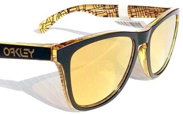 612d592a88d Oakley Frogskins 24k Iridium Rectangular Asian Fit Sunglasses Oo9245 ...