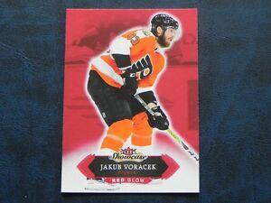 2016-17-Fleer-Showcase-Red-Glow-55-Jakub-Voracek-Philadelphia-Flyers