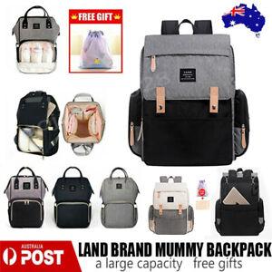 LAND-Mummy-Maternity-Nappy-Diaper-Bag-Capacity-Baby-Bag-Travel-Backpack-Waterpro