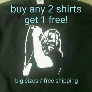 Bob-Seger-t-shirt-and-the-Silver-Bullet-Band-blues-rock-music-vintage-big-sizes