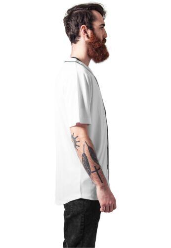 URBAN CLASSICS Maglia T-shirt uomo Baseball Mesh Jersey TB1237