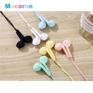NEW MACAROON UNIVERSAL EARPHONE W/MIC (high Quality)