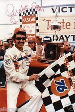 "Richard Petty Hand Signed Photo King of NASCAR 12x8""AE"