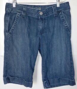 Big-Star-Blue-Denim-Bermuda-Shorts-Size-28