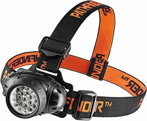 Comfortable PATHFINDER 21 LED Headlamp Headlight Head Torch Lightweight