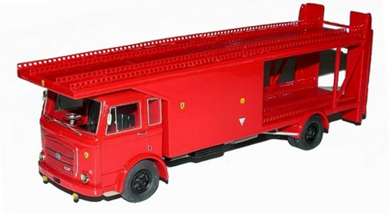 qualità garantita OM 150 bisarca trasporto auto Scuderia Ferrari 1968 1968 1968 - Tron modellos kit 1 43  Prezzo al piano