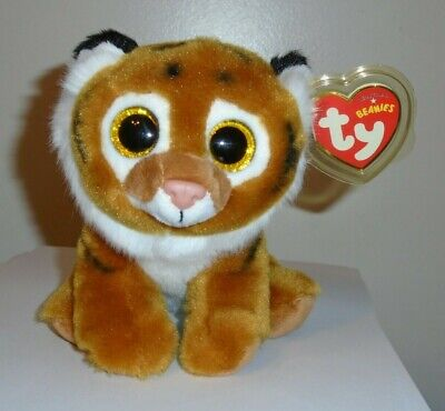 TY TIGGS the ORANGE TIGER BEANIE BABY MINT with MINT TAGS ORIGINAL VERSION