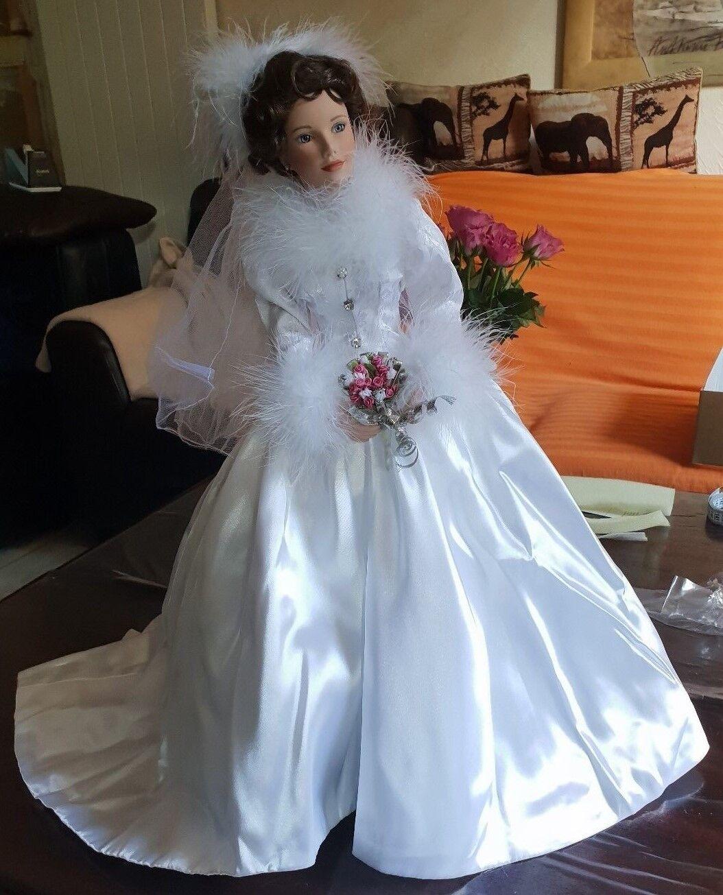 Sandra Sandra Sandra Bilotto Puppe Model -Winter Romanze-  Doll mit Zertifikat dbf0ee