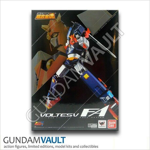 BANDAI Soul of Chogokin Voltes V GX-79 Choudenji Machine Action Figure Japan F//S