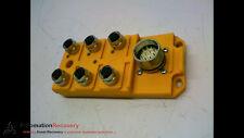 LUMBERG AUTOMATION ASBS 6/LED 5-4, POWER DISTRIBUTION BLOCK, 6 PORTS #158107