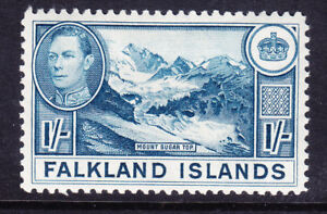 FALKLAND-IS-1938-George-VI-SG158-1-light-dull-blue-mounted-mint-Cat-75