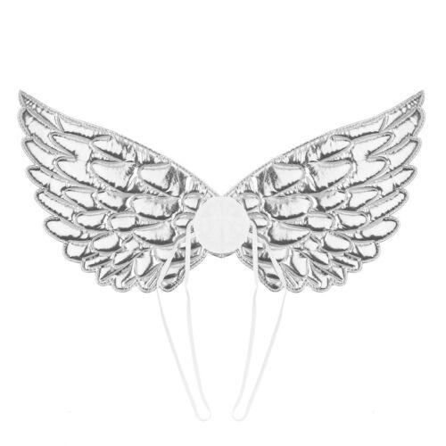 Enfants Unisexe Brillant Métallique ailes d/'ange pour Halloween Cosplay Party Costume HQ