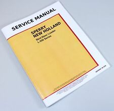 New Holland L550 Skid Steer Loader Chassis Service Repair Shop Manual Technical