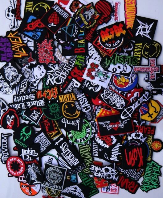 """USA Seller 3/"""" THE MISFITS Embroidered Iron On patch patches Rock n Roll band"""
